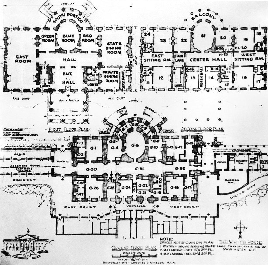 whitehouse floorplan c   Danette O    Neal  PhDwhitehouse floorplan c